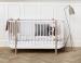 Oliver Furnituren Wood- collection cot, white/oak