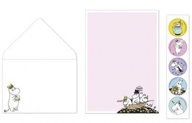 Kirjepaperisetti Muumi/Veneilijät