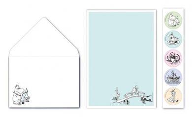 Kirjepaperisetti Muumi/Sillalla