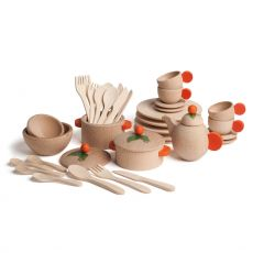 Large Set of Natural Dishes