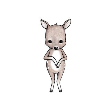 Seinätarra, Disa the deer