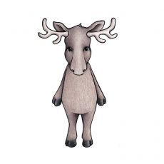 Seinätarra, Oden the moose