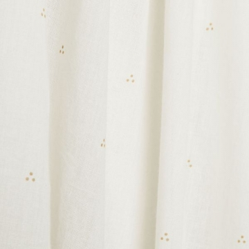 Bed canopy Dot Creme gold