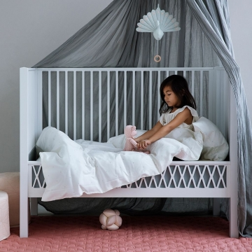 Bed canopy Grey