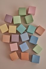Earth pastel cubes 20kpl