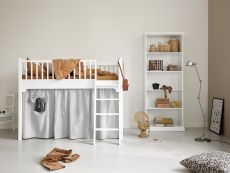 Curtain for Seaside bunk bed and low loft beds