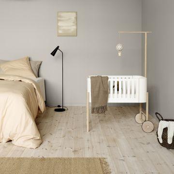Wood co-sleeper / bench