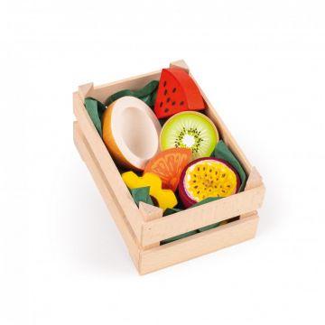 Trooppiset hedelmät -kori, pieni