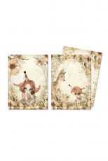 2-pack A6 kortit - The Floral Glade