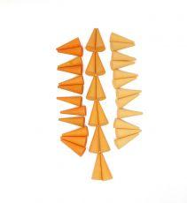 Mandala oranssit kartiot