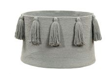 Kori: Tassels Light Grey