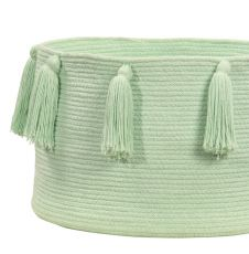 Kori: Tassels Soft mint