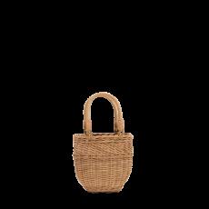 Rattan Bucket Bag - small