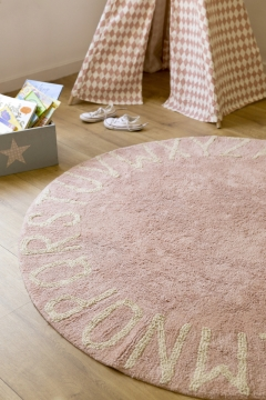 Round ABC Vintage Nude - Natural 150 cm