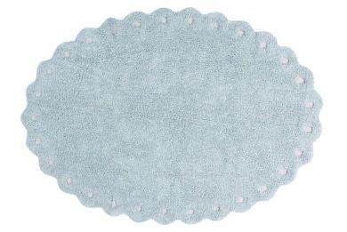 Pine cone Pearl Blue 130 x 180 cm