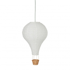 Lamp, hot air balloon, Grey Wave