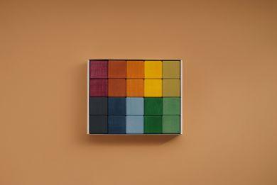 Earth colors cubes 20kpl