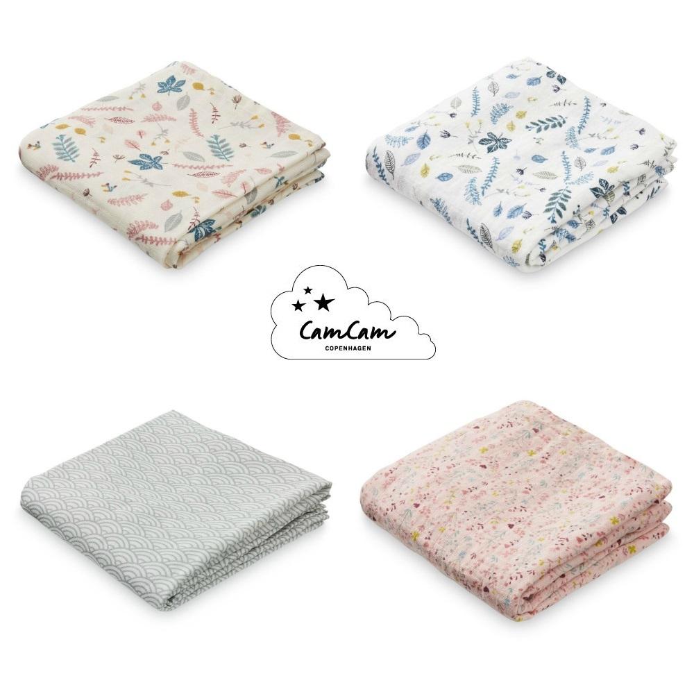Muslin Cloth Printed Cam Cam