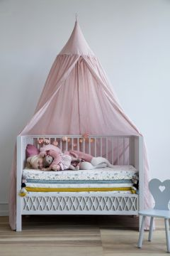 Bed canopy Dot Blossom pink