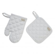 Kids Oven Glove and Pot holder Play set