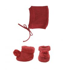 Knit Set Plum