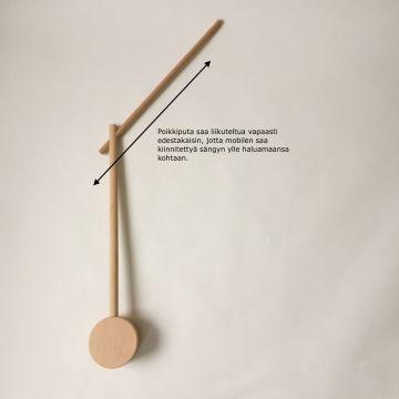Mobilen pidike, puinen