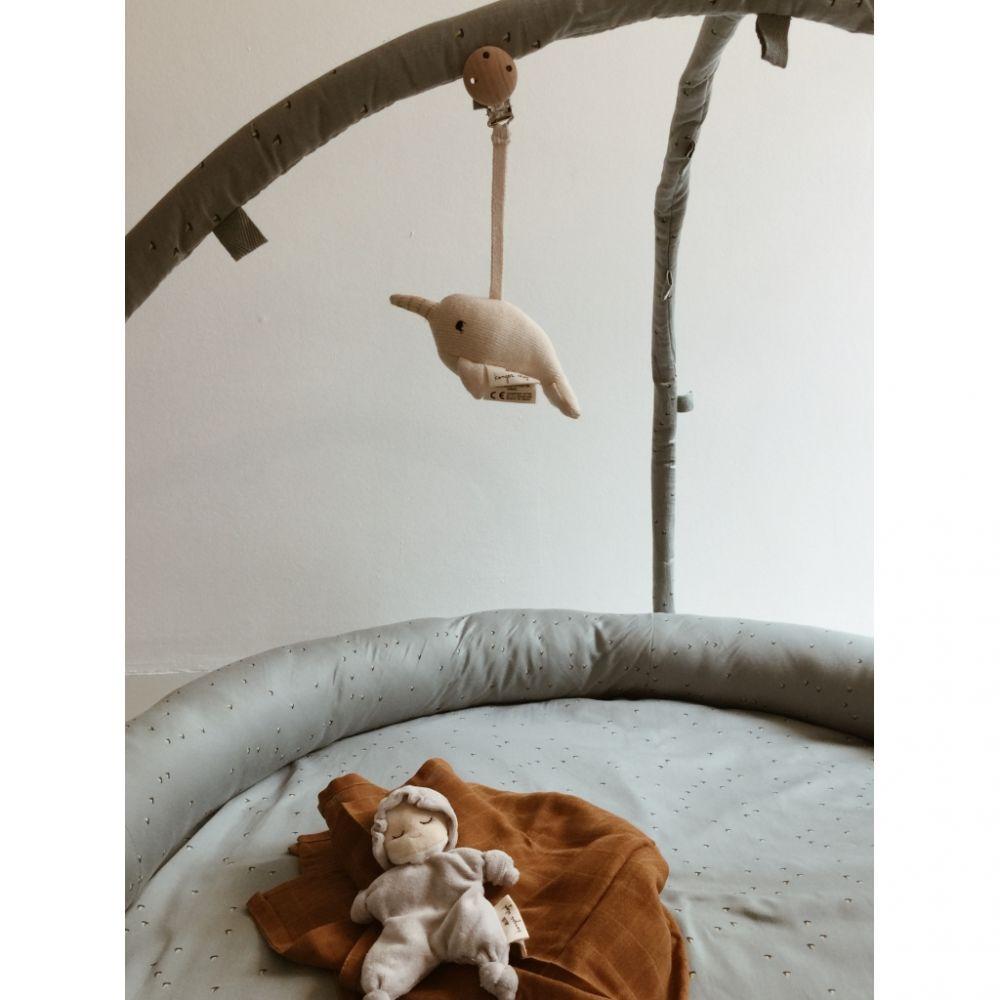Mannankylässä: Vauvan sänky ja huone valmiina!