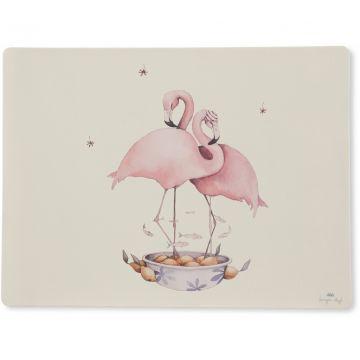 Ruokailualusta Flamingo