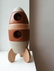 Pinottava puulelu, raketti