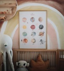 Mushie Poster, Space 50x70