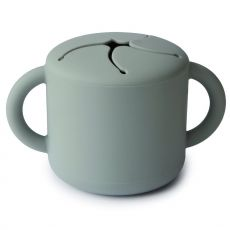 Mushie Snack Cup, Cambridge Blue