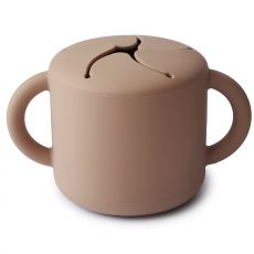 Mushie Snack Cup, Natural