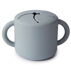 Mushie Snack Cup, Stone