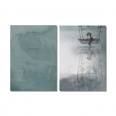 Notebooks 2-PACK Flying boat