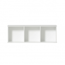 Wood low shelving units