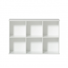Wood shelving units