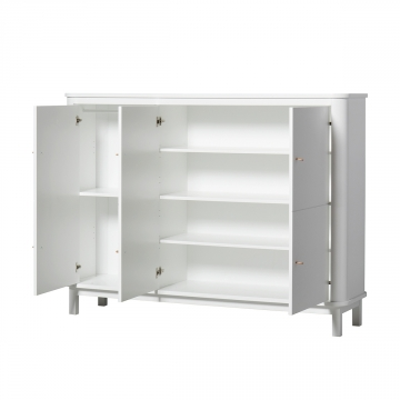 Oliver Furniture Wood Multi cupboard White