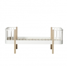 Oliver Furniture Junior bed white/oak