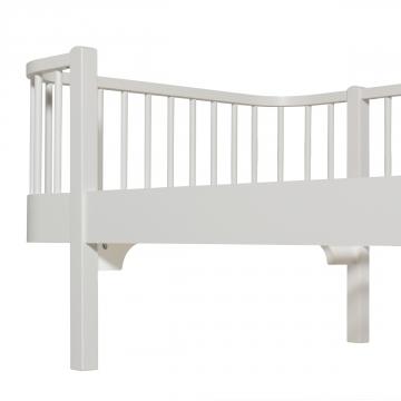 Junior sänky, valkoinen