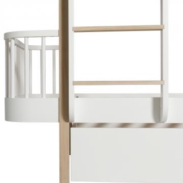 Oliver Furnituren Wood-malliston kerrossänky,vuodevaatelaatikko
