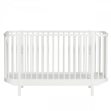 Oliver Furnituren Wood- collection cot, white