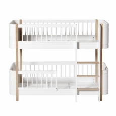 WOOD MINI+ LOW BUNK BED