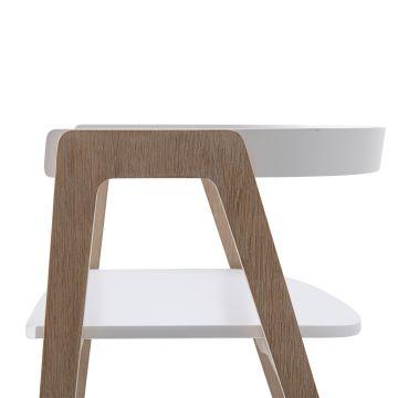 Wood työpöytä 66 cm ja tuoli
