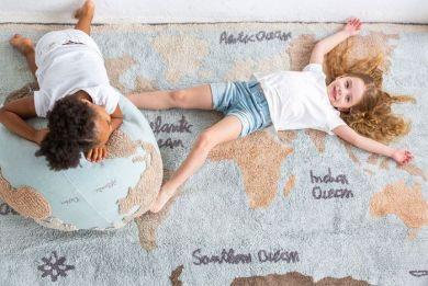 Pouf, maailmakartta