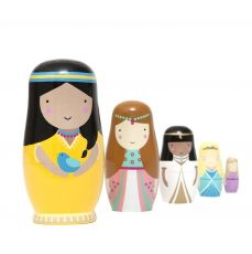 Nesting dolls Princess