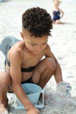 Scrunch hiekkamuotit Vaaleansininen