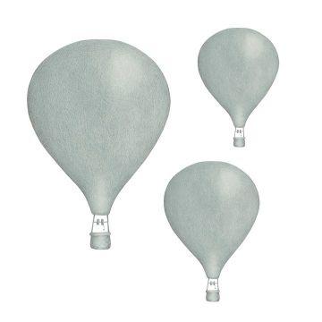 Seinätarrat, Dusty green balloons