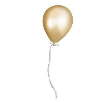 Seinätarra, Party balloon gold