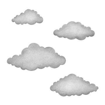 Seinätarrat, Clouds graphite grey