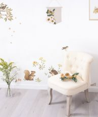 Wall stickers: Little forest animals